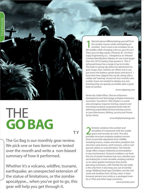 the go bag page 1